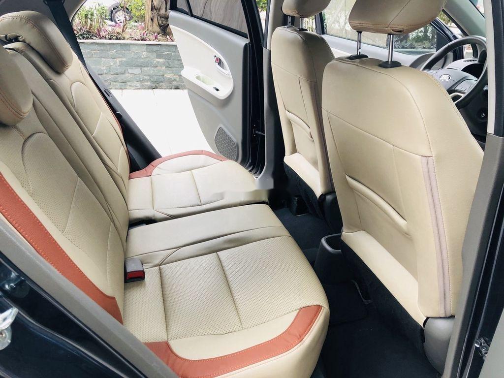 Bán ô tô Kia Morning đời 2018 còn mới, màu xanh đen (10)