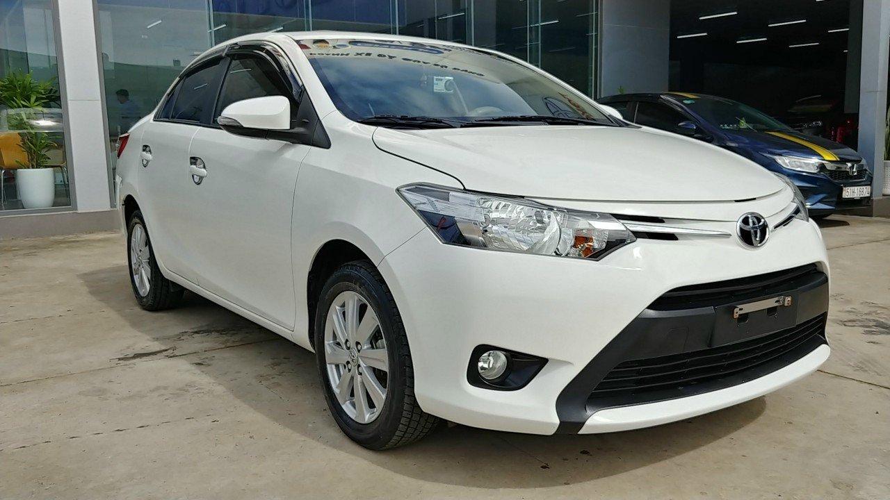 Bán Toyota Vios năm 2018, màu trắng, 459 triệu (2)