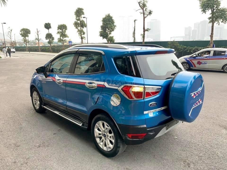 Bán Ford EcoSport 1.5 AT sản xuất 2014, màu xanh còn mới, 425 triệu (4)