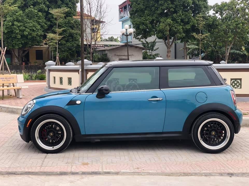 Cần bán gấp xe Mini Cooper sản xuất 2008, màu xanh lam, giá 450 triệu (2)