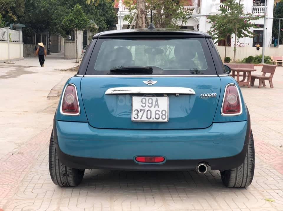 Cần bán gấp xe Mini Cooper sản xuất 2008, màu xanh lam, giá 450 triệu (3)