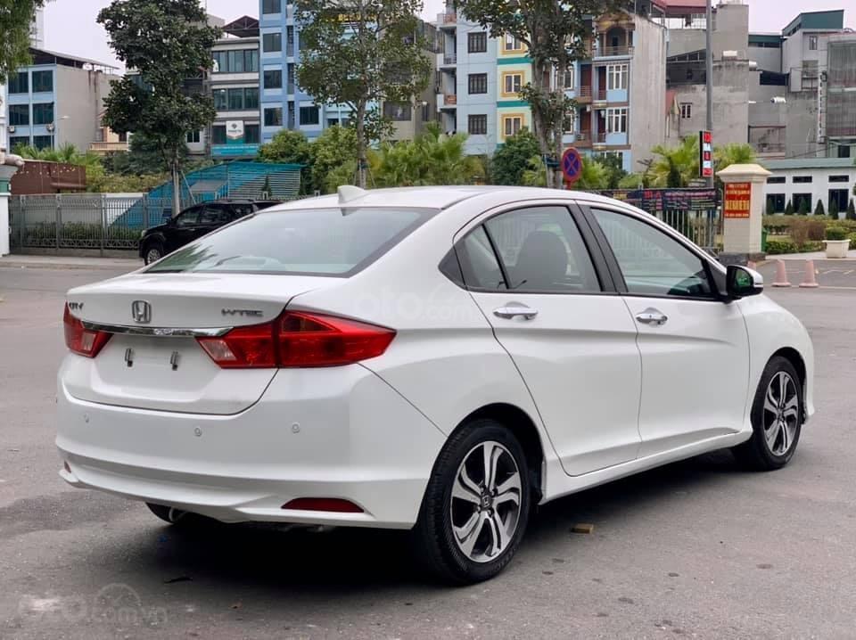 Cần bán xe Honda City CVT đời 2016, màu trắng, giá 455 triệu (1)