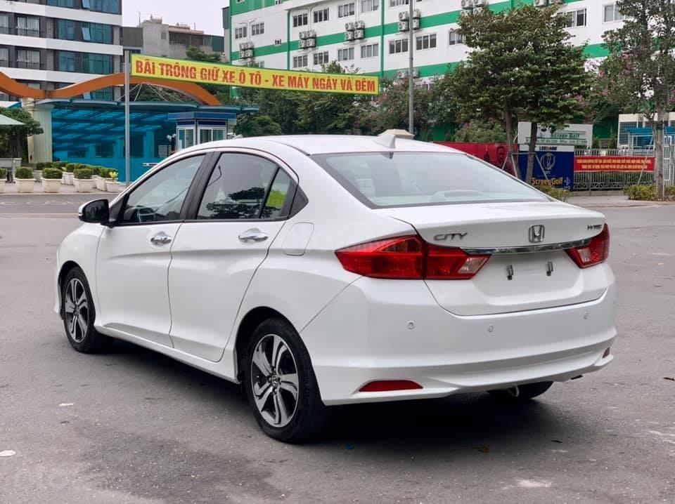 Cần bán xe Honda City CVT đời 2016, màu trắng, giá 455 triệu (2)