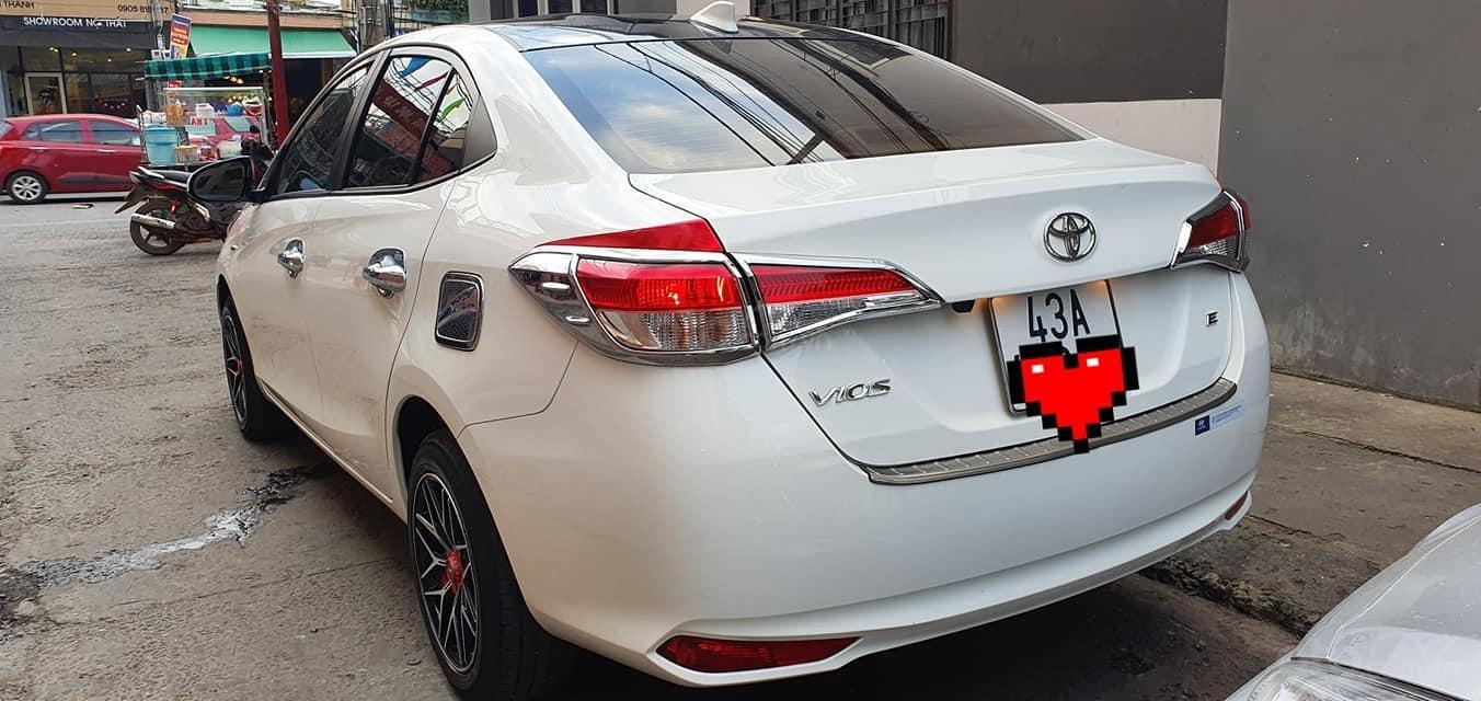 Bán Toyota Vios E 2019 1 đời chủ màu trắng biển số 43 (4)