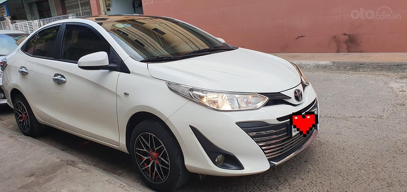 Bán Toyota Vios E 2019 1 đời chủ màu trắng biển số 43 (5)