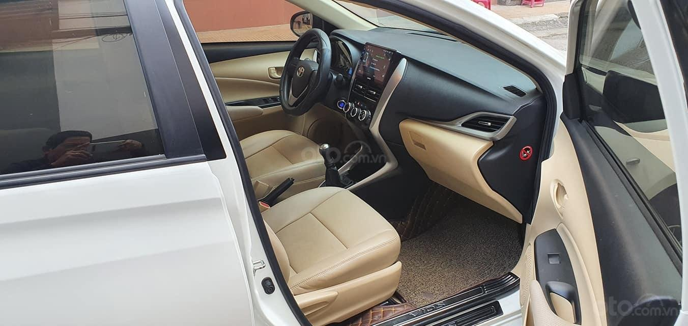 Bán Toyota Vios E 2019 1 đời chủ màu trắng biển số 43 (7)