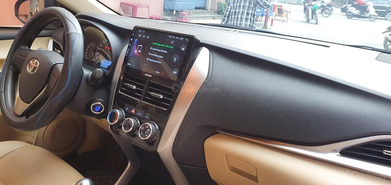 Bán Toyota Vios E 2019 1 đời chủ màu trắng biển số 43 (6)