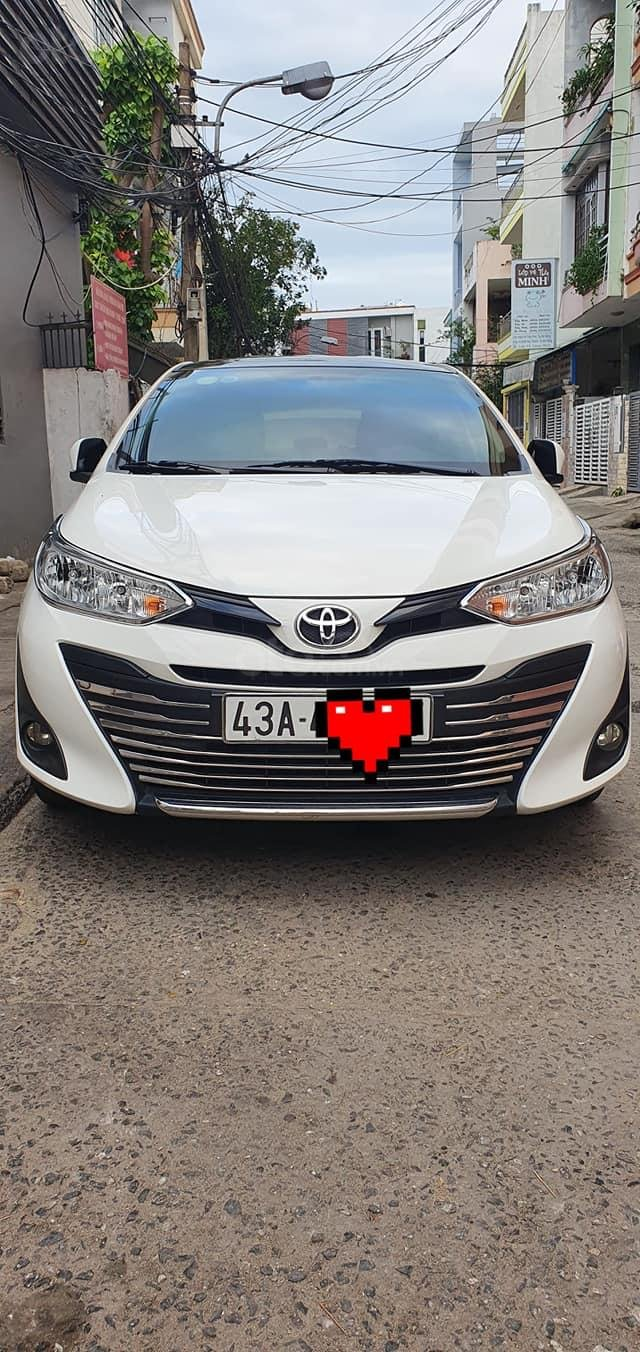 Bán Toyota Vios E 2019 1 đời chủ màu trắng biển số 43 (1)