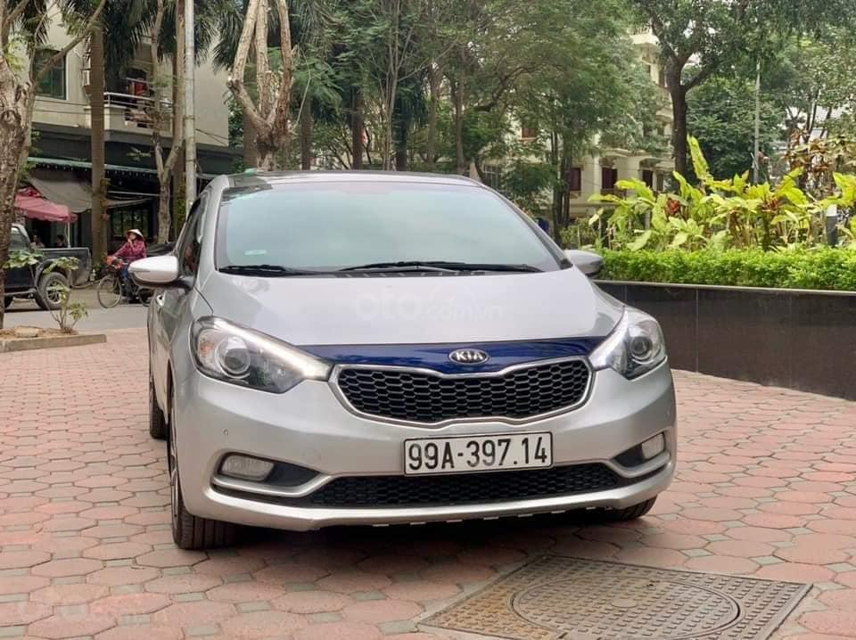 Bán xe Kia K3 2015 bản 2.0 AT, màu bạc, giá nhỉnh 400 triệu (1)