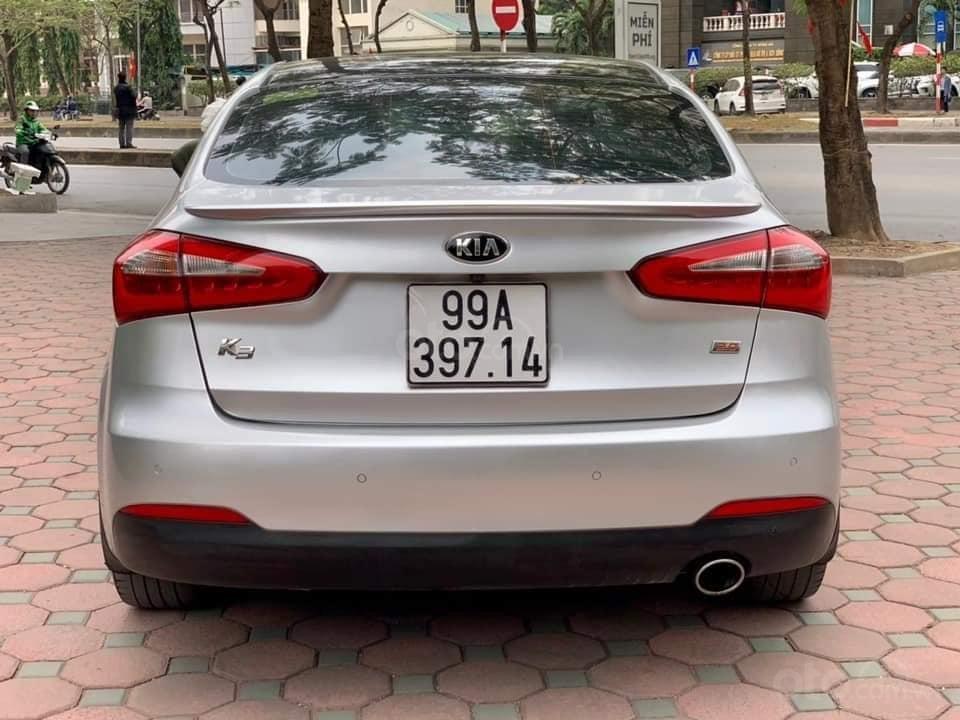 Bán xe Kia K3 2015 bản 2.0 AT, màu bạc, giá nhỉnh 400 triệu (5)