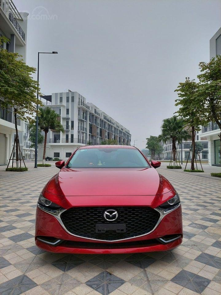 Xe Mazda 3 Sport Luxury 2019, màu đỏ mới chạy 6000 km, giá cực đẹp (1)