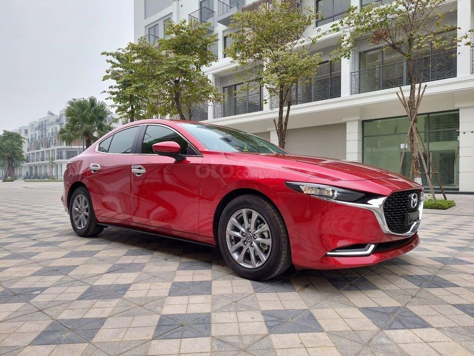 Xe Mazda 3 Sport Luxury 2019, màu đỏ mới chạy 6000 km, giá cực đẹp (2)
