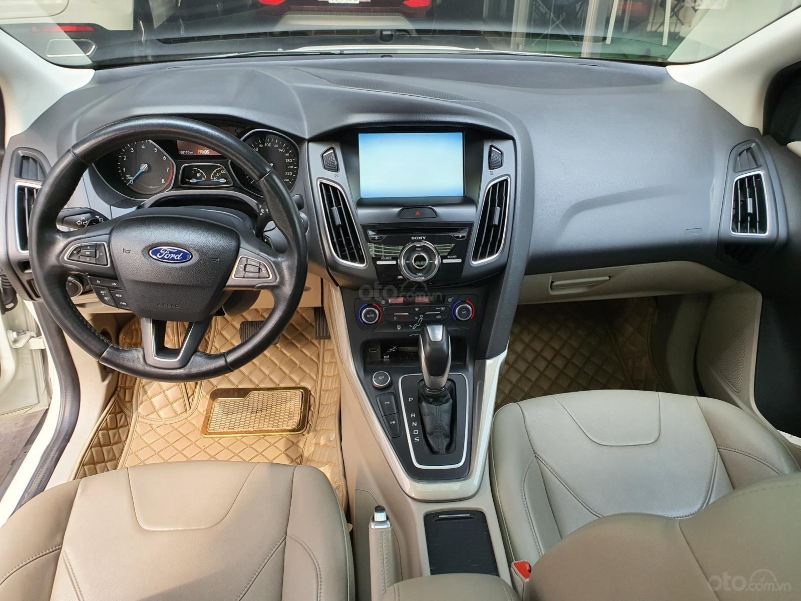 Ford Focus Titanium 2015 trắng xe đẹp giá hợp lý (5)