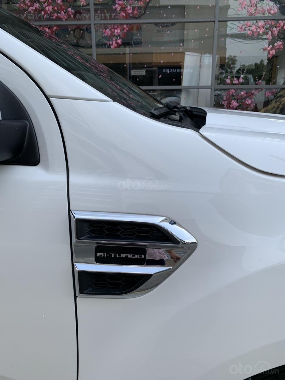 Ford Everest Titanium Biturbo 2019 trắng, xe đẹp cho mọi người (10)