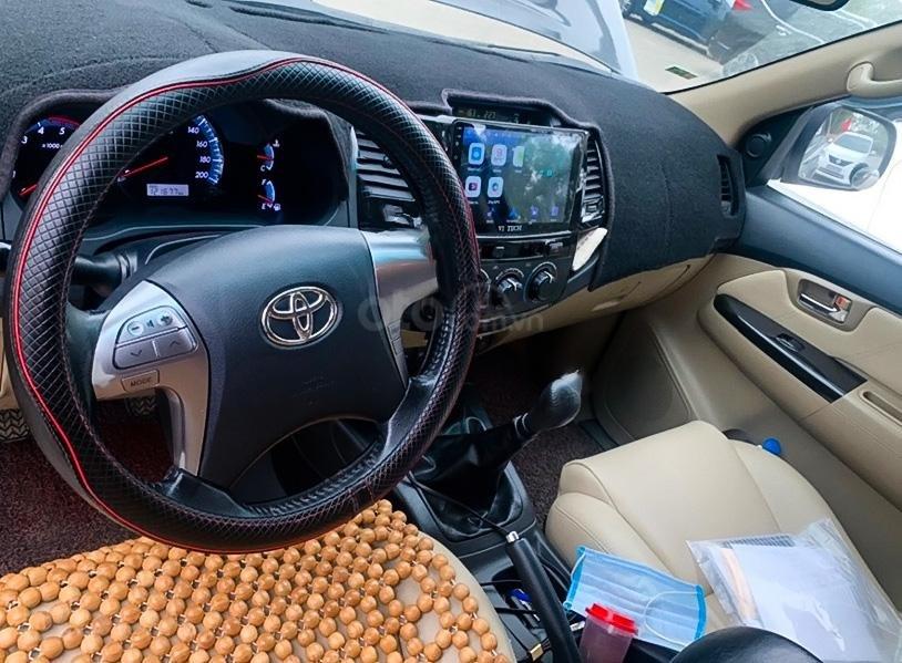 Xe Toyota Fortuner sản xuất 2014, màu đen còn mới (2)