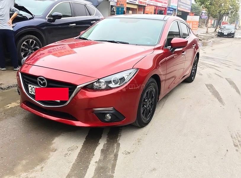 Bán ô tô Mazda 3 đời 2017, màu đỏ còn mới, giá 550tr (1)