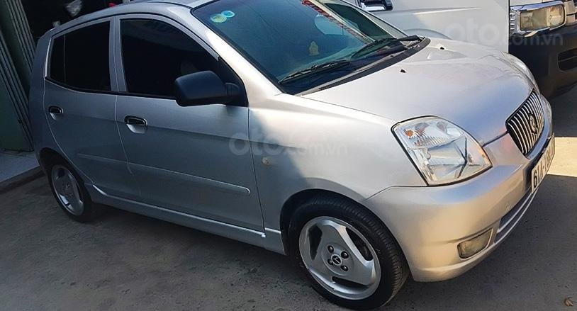 Bán xe Kia Morning đời 2005, màu bạc, nhập khẩu còn mới, 162 triệu (1)