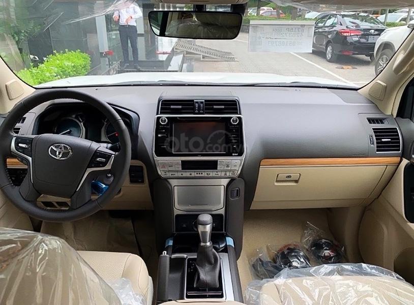 Cần bán Toyota Prado sản xuất 2021, màu trắng, xe nhập (5)