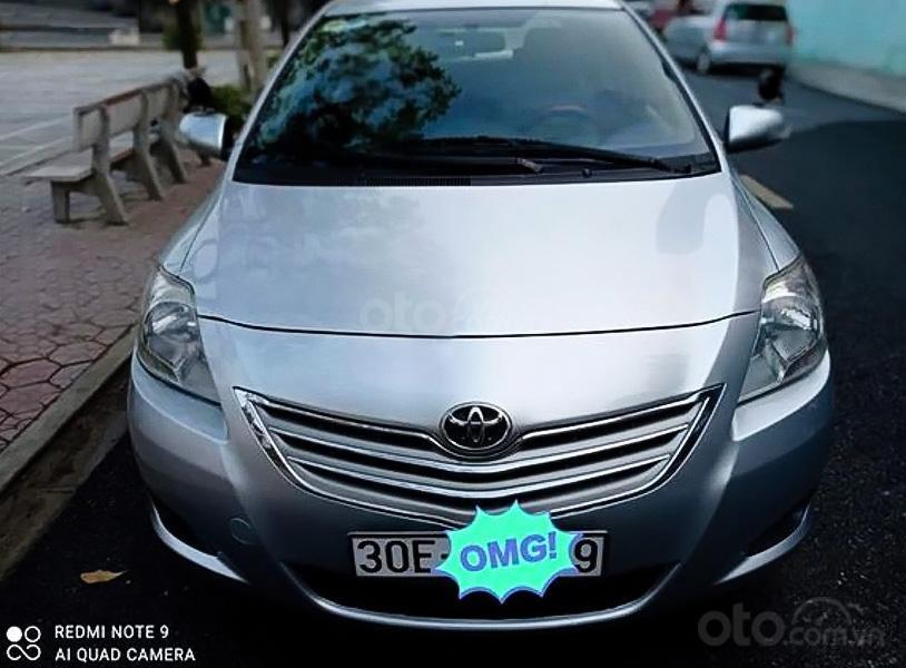 Bán Toyota Vios sx 2010, màu bạc chính chủ (2)