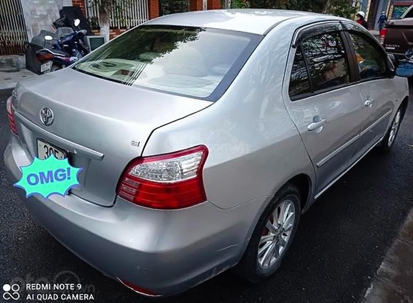 Bán Toyota Vios sx 2010, màu bạc chính chủ (3)