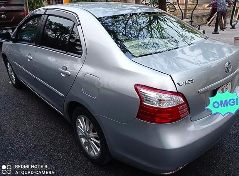 Bán Toyota Vios sx 2010, màu bạc chính chủ (4)
