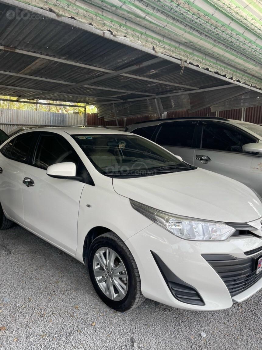 Bán xe Vios E sx 2019, màu trắng, như mới (3)