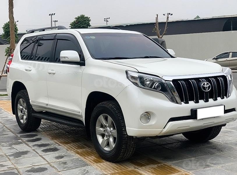 Cần bán Toyota Prado năm sản xuất 2014, màu trắng, xe nhập  (1)