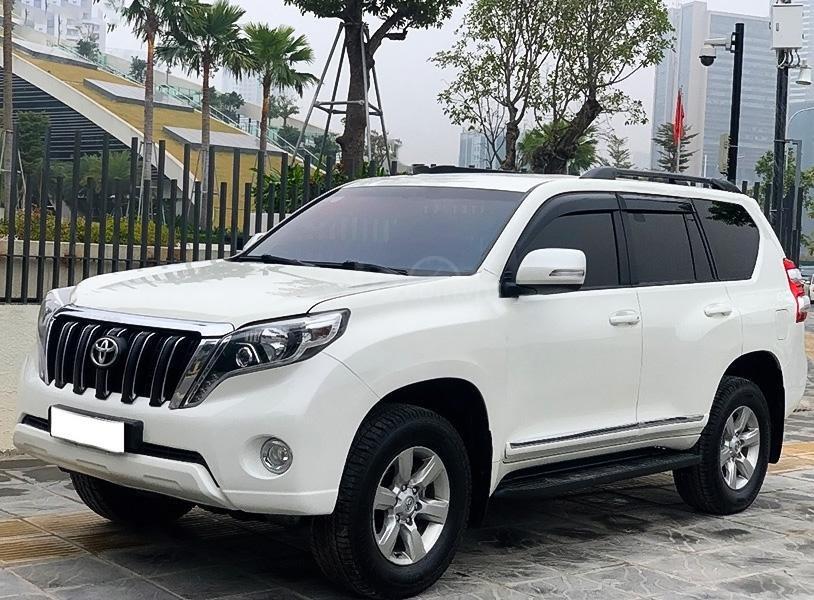 Cần bán Toyota Prado năm sản xuất 2014, màu trắng, xe nhập  (3)