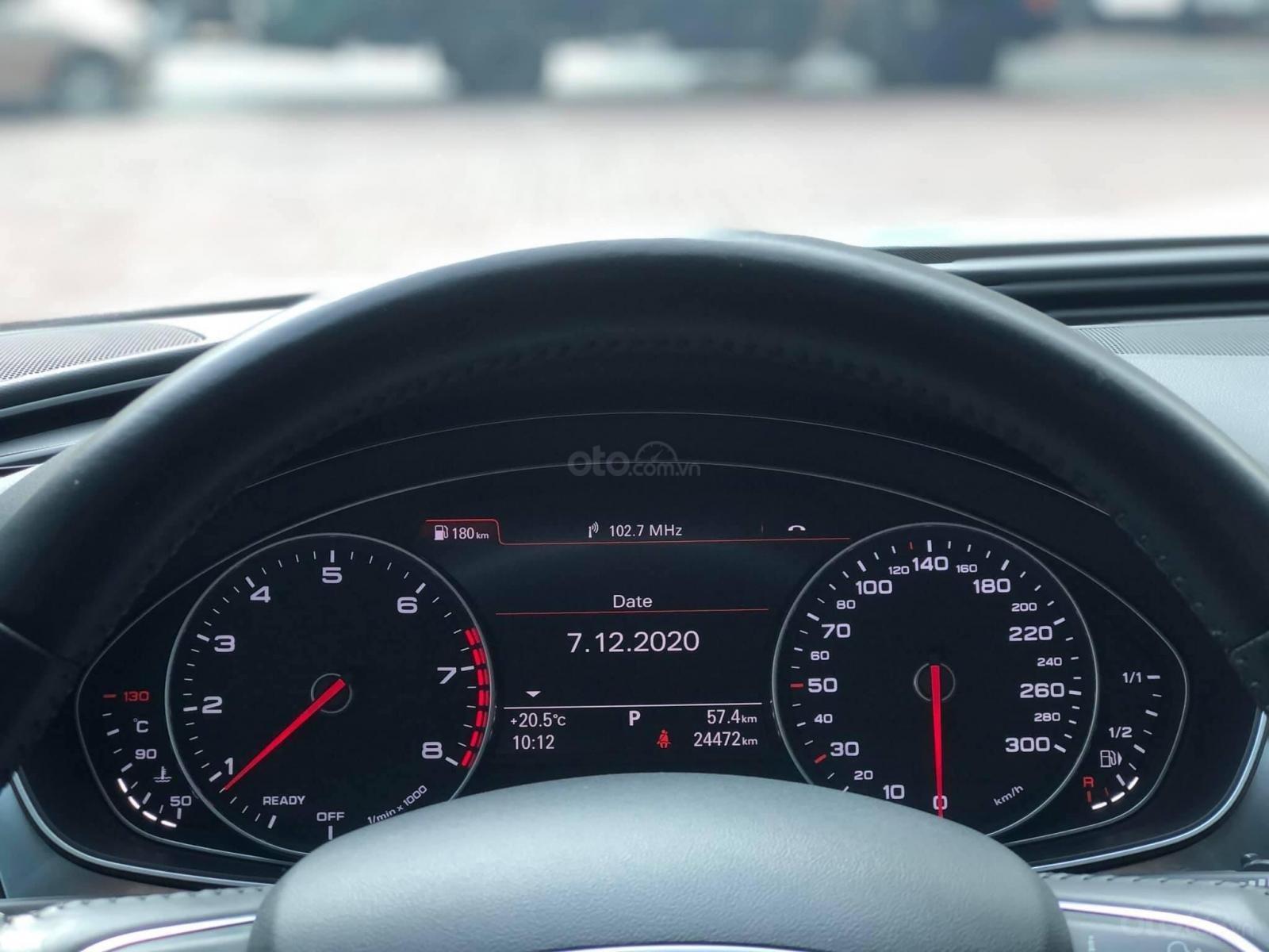 Cần bán lại xe Audi A6 sx 2016 đk 2017, màu trắng nội thất đen (6)