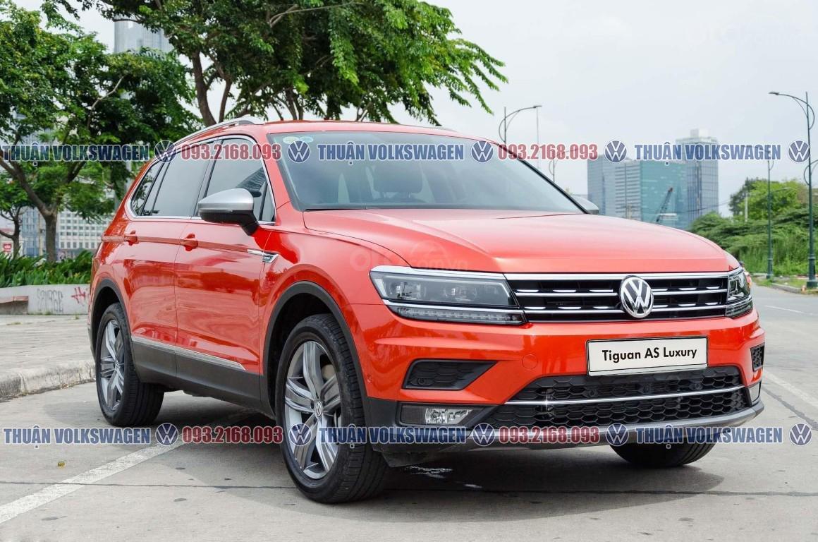 Khuyến mãi tháng 2/2021 Volkswagen Tiguan Luxury màu cam giảm cực khủng 120 triệu tiền mặt+ gói quà tặng cực hấp dẫn (3)