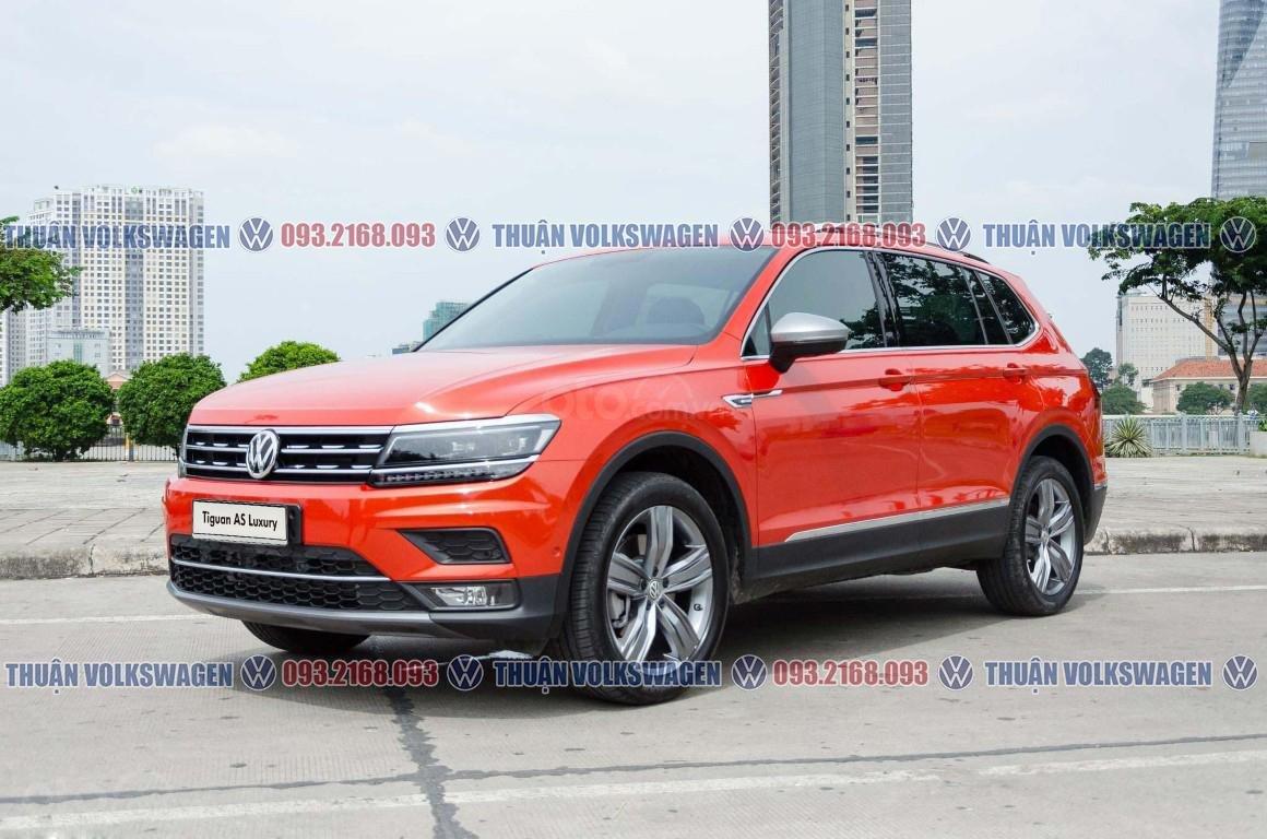 Khuyến mãi tháng 2/2021 Volkswagen Tiguan Luxury màu cam giảm cực khủng 120 triệu tiền mặt+ gói quà tặng cực hấp dẫn (4)