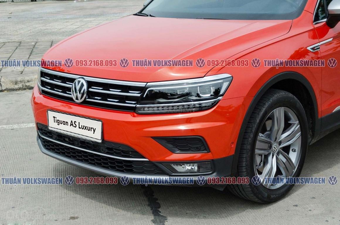 Khuyến mãi tháng 2/2021 Volkswagen Tiguan Luxury màu cam giảm cực khủng 120 triệu tiền mặt+ gói quà tặng cực hấp dẫn (5)