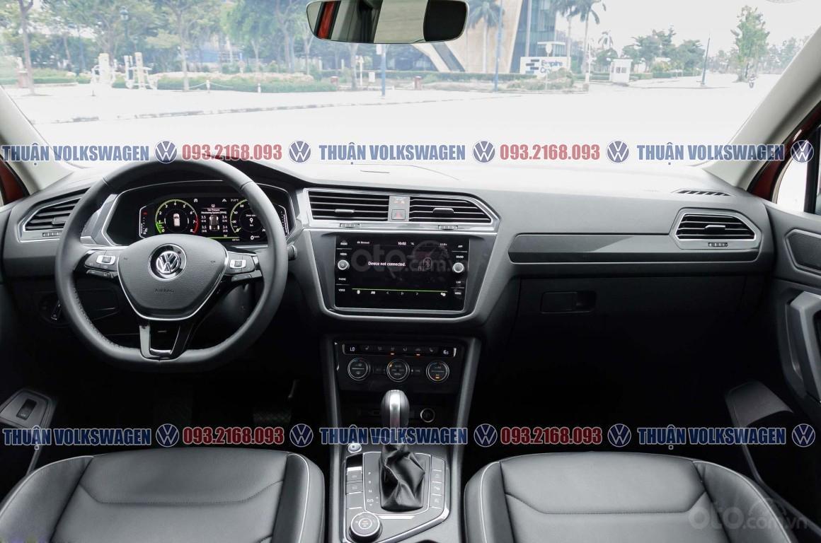 Khuyến mãi tháng 2/2021 Volkswagen Tiguan Luxury màu cam giảm cực khủng 120 triệu tiền mặt+ gói quà tặng cực hấp dẫn (8)