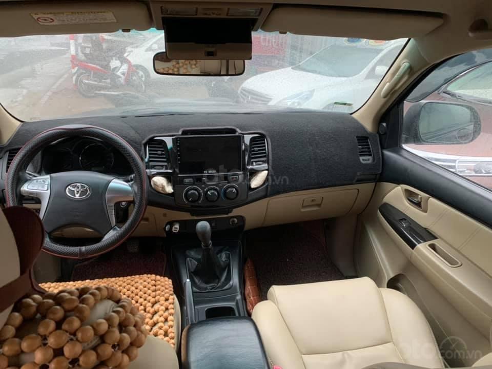 Cần bán xe Toyota Fortuner G 2.5 2014, màu đen, biển thủ đô (4)