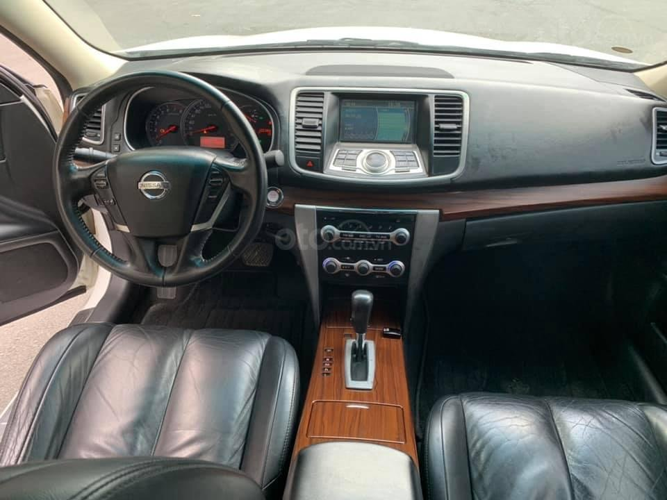 Cần bán xe Nissan Teana 2010 biển thành phố, màu trắng, giá cạnh tranh (4)
