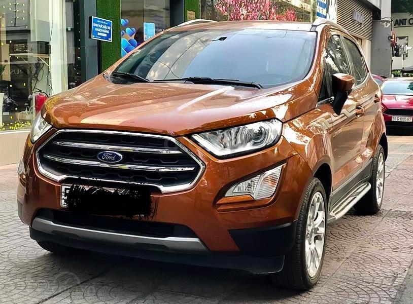 Cần bán Ford EcoSport Titanium năm sản xuất 2019, màu cam (1)
