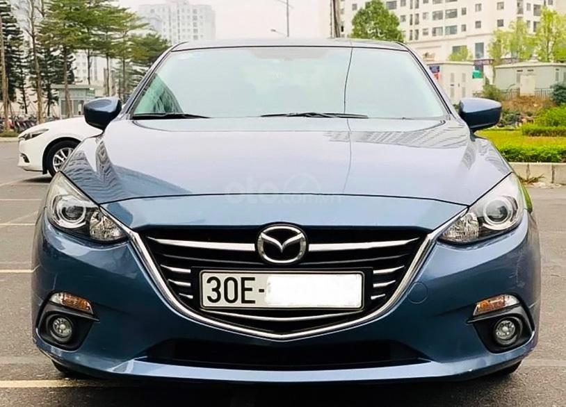 Cần bán xe Mazda 3 sản xuất 2017, màu xanh lam (1)