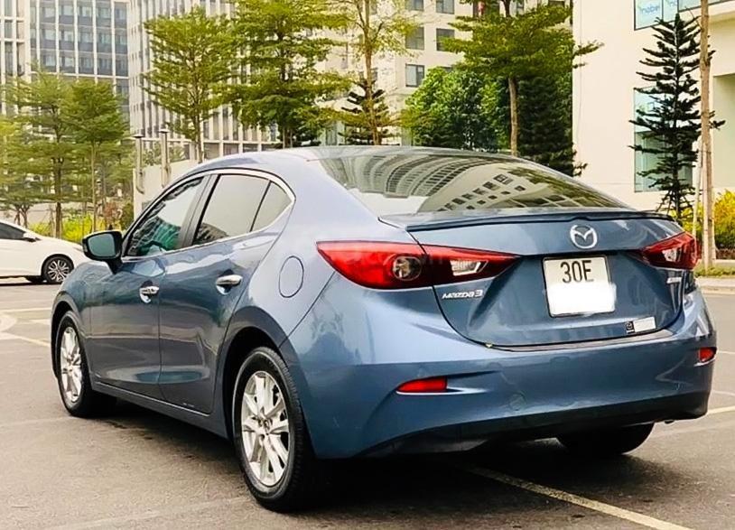 Cần bán xe Mazda 3 sản xuất 2017, màu xanh lam (4)