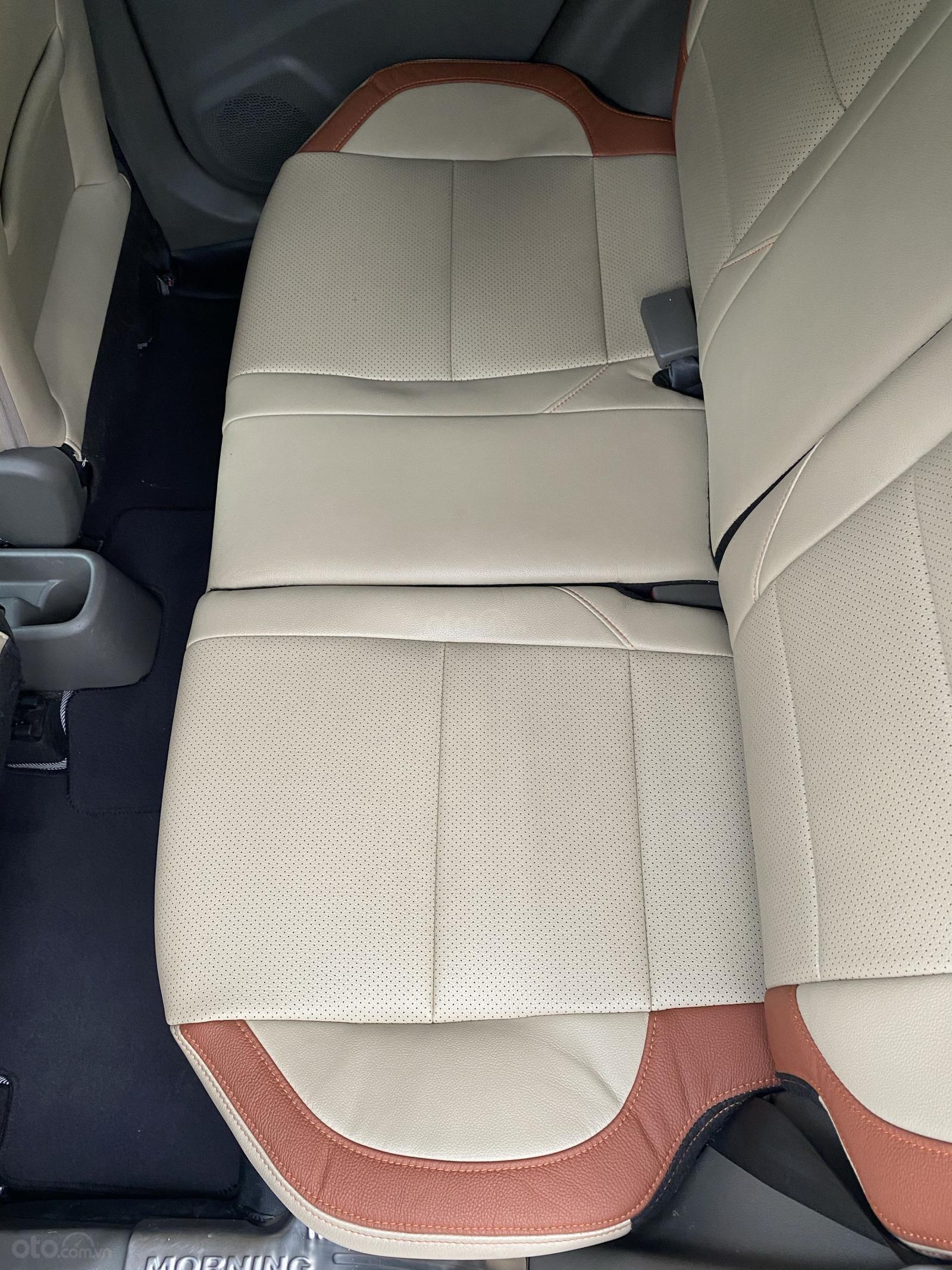 Kia Morning S 1.25AT màu xanh Cavansite 2018 (14)