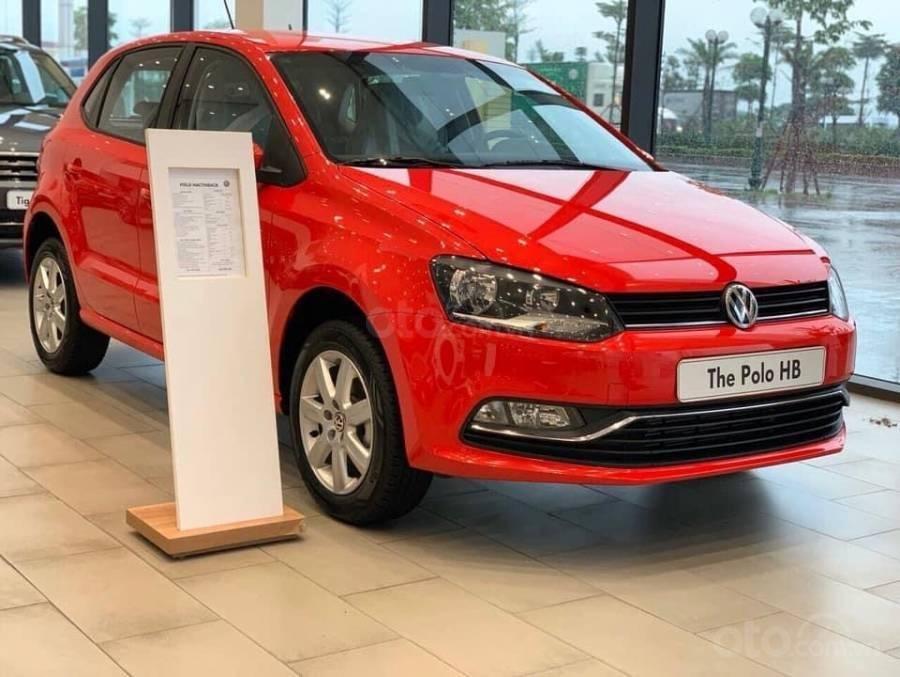Bán ô tô Volkswagen Polo Hatchback 2018, màu đỏ, nhập khẩu nguyên chiếc - hỗ trợ 100% trước bạ (2)