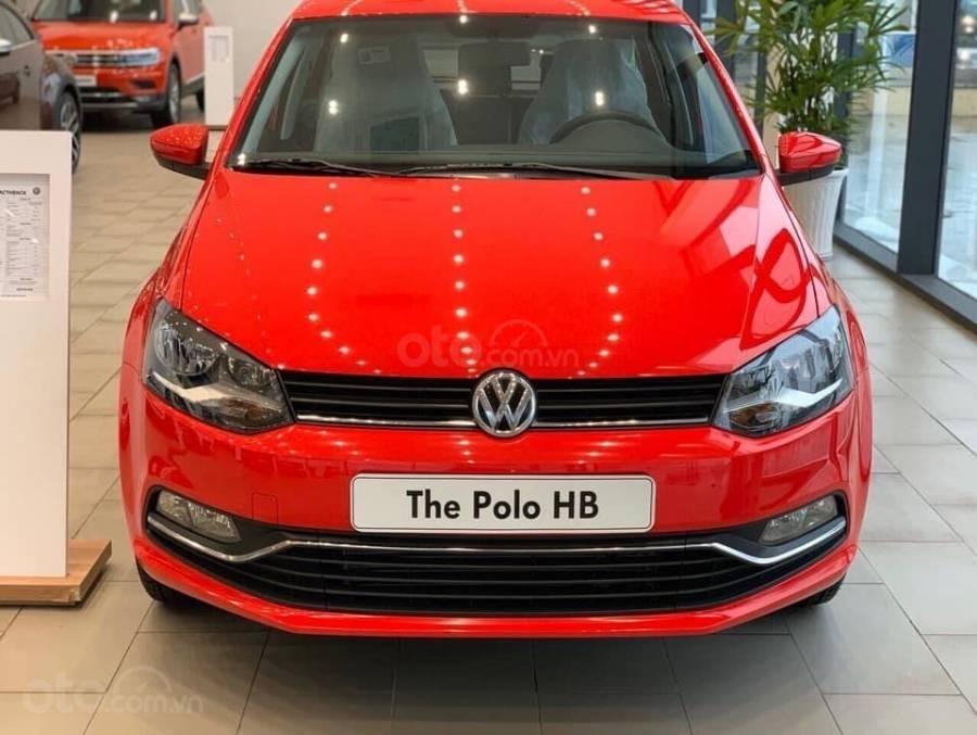 Bán ô tô Volkswagen Polo Hatchback 2018, màu đỏ, nhập khẩu nguyên chiếc - hỗ trợ 100% trước bạ (1)