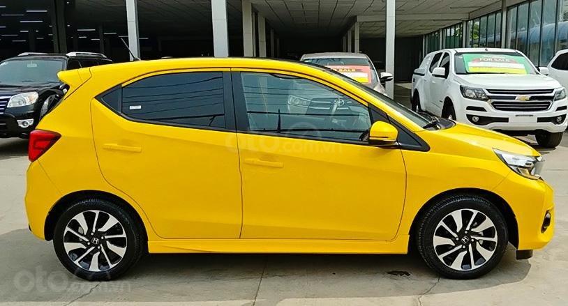 Bán Honda Brio 1.2 RS đời 2020, màu vàng, nhập khẩu  (1)
