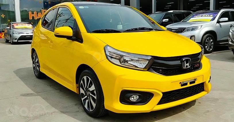 Bán Honda Brio 1.2 RS đời 2020, màu vàng, nhập khẩu  (6)
