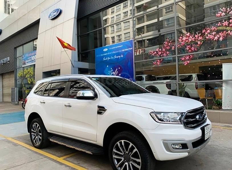 Cần bán Ford Everest đời 2019, màu trắng, xe nhập  (1)