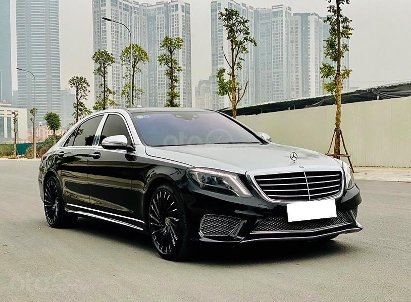 Cần bán Mercedes S400 Full sản xuất năm 2014, màu đen  (1)
