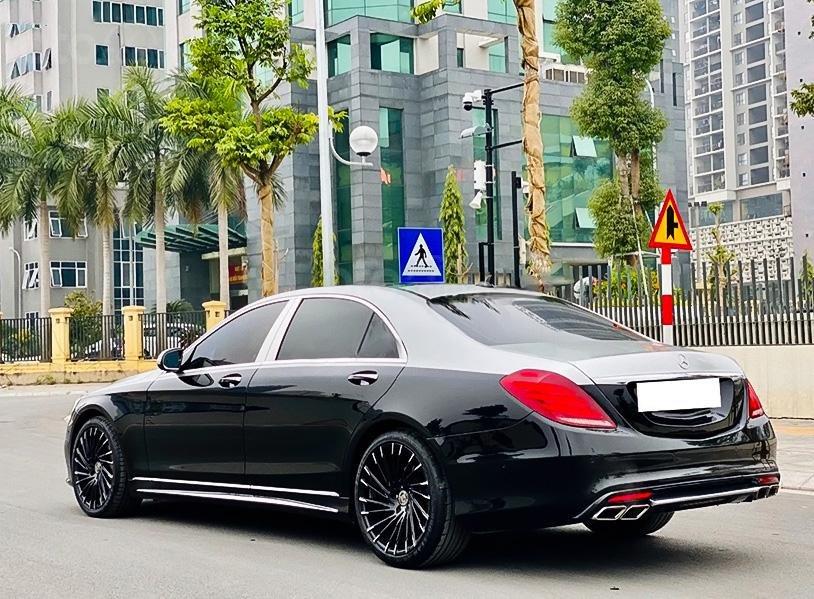 Cần bán Mercedes S400 Full sản xuất năm 2014, màu đen  (3)