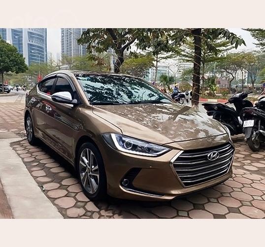 Bán ô tô Hyundai Elantra 2.0AT đời 2016, màu nâu  (1)
