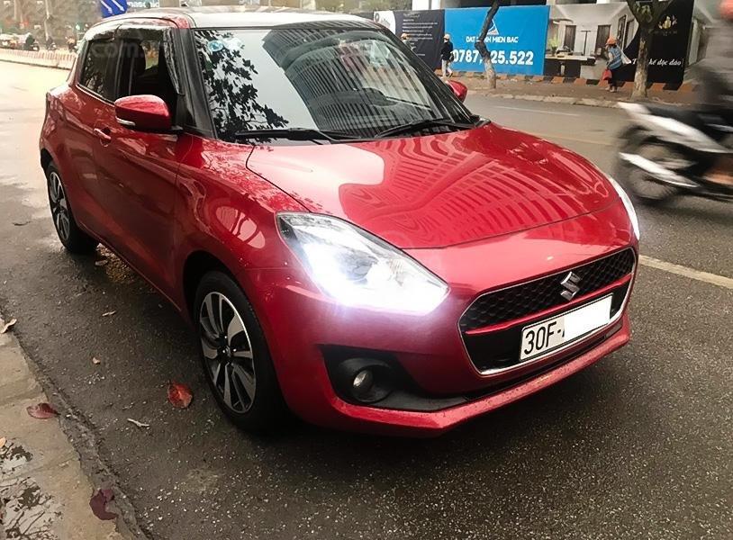 Cần bán xe Suzuki Swift GLX 1.2 AT năm 2018, màu đỏ, nhập khẩu  (1)