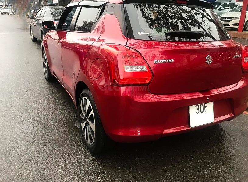 Cần bán xe Suzuki Swift GLX 1.2 AT năm 2018, màu đỏ, nhập khẩu  (4)