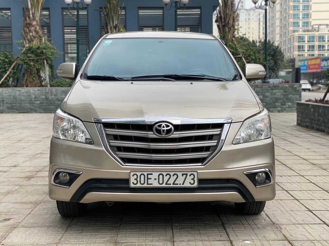 Bán Toyota Innova năm sản xuất 2016, giá chỉ 499 triệu (1)